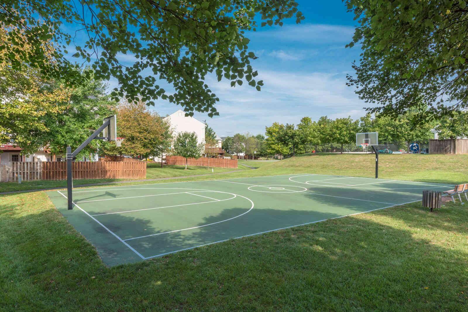 Basketball court at Carisbrooke HOA
